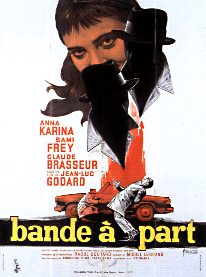 Film poster for Bande a part (1964).