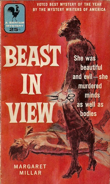 Bantam cover for Beast in View.