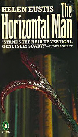 Penguin Crime cover for The Horizontal Man.