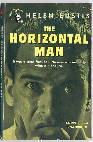 Pocket reprint cover for The Horizontal Man.
