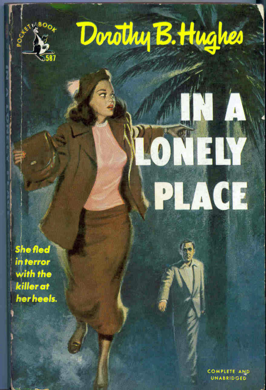 Pocket reprint cover for In a Lonely Place.