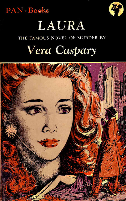 Pan Books reprint cover for Laura.