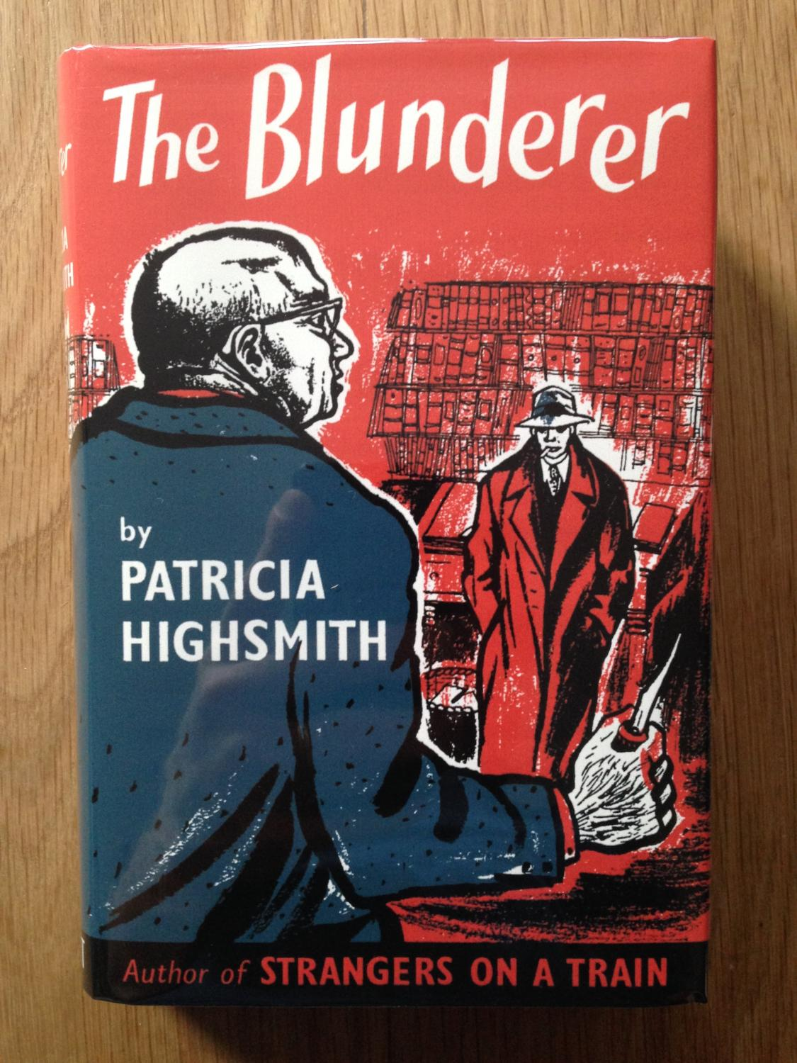 UK cover for The Blunderer.