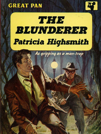 Pan Books cover for The Blunderer.