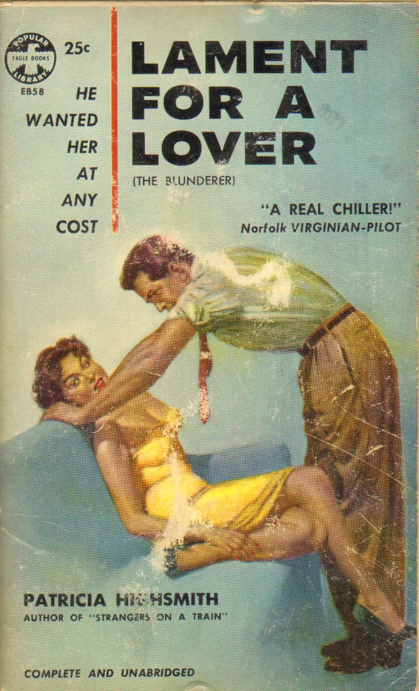 Eagle Books reprint cover for Lament for a Lover.