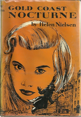 First edition cover of Gold Coast Nocturne (1952) by Helen Nielsen.