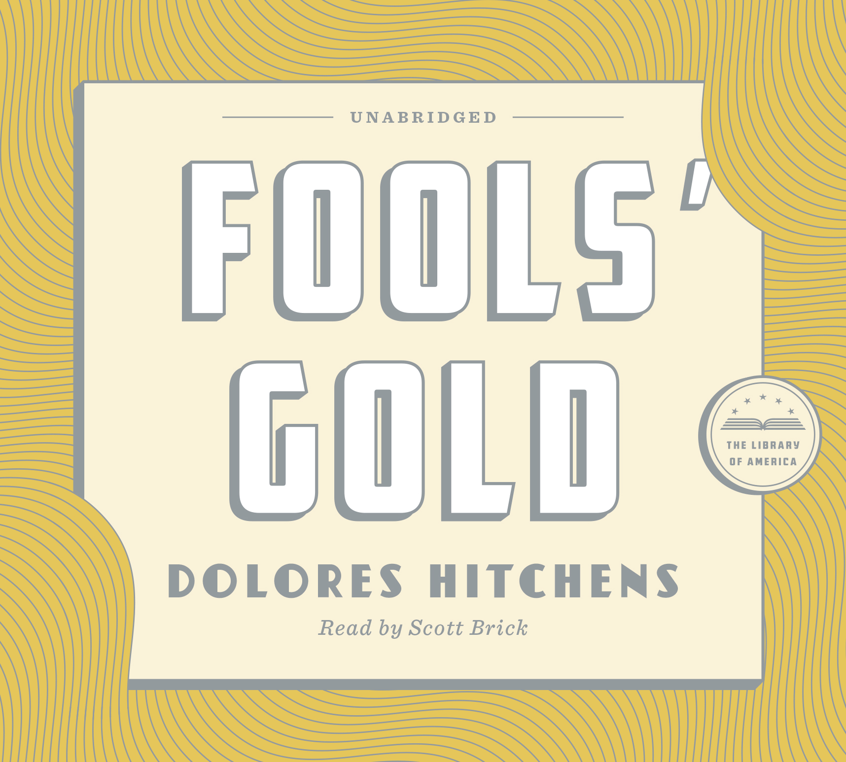 Fools' Gold Audiobook Cover.