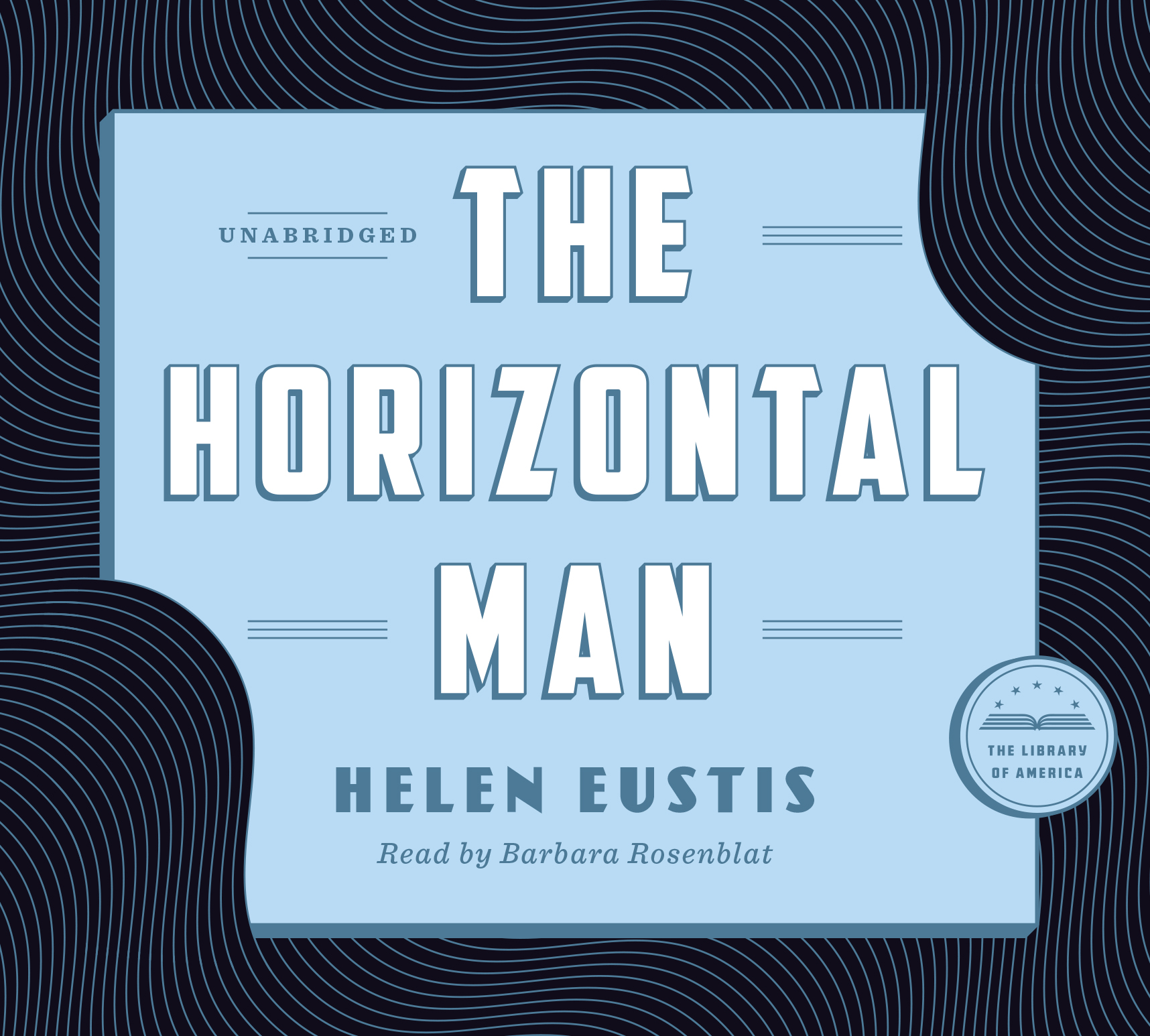 Horizontal Man Audiobook Cover.